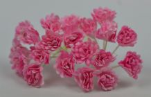 2 TONE PINK GYPSOPHILA / FORGET ME NOT Mulberry Paper Flowers